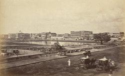 The Esplanade and Government House from Chowringhee [Calcutta]